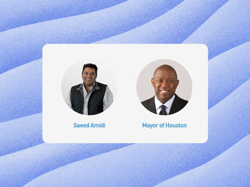 Fireside Chat Mayor of Houston Sylvester Turner Saeed Amidi thumbnail