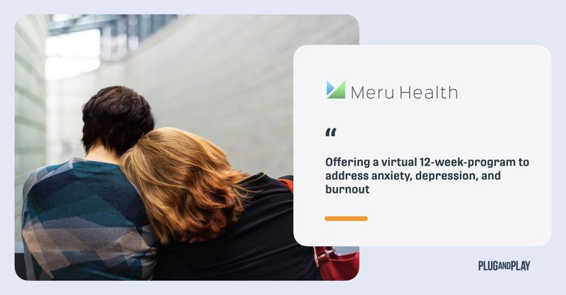 Health Startups 2021 Meru Health 2