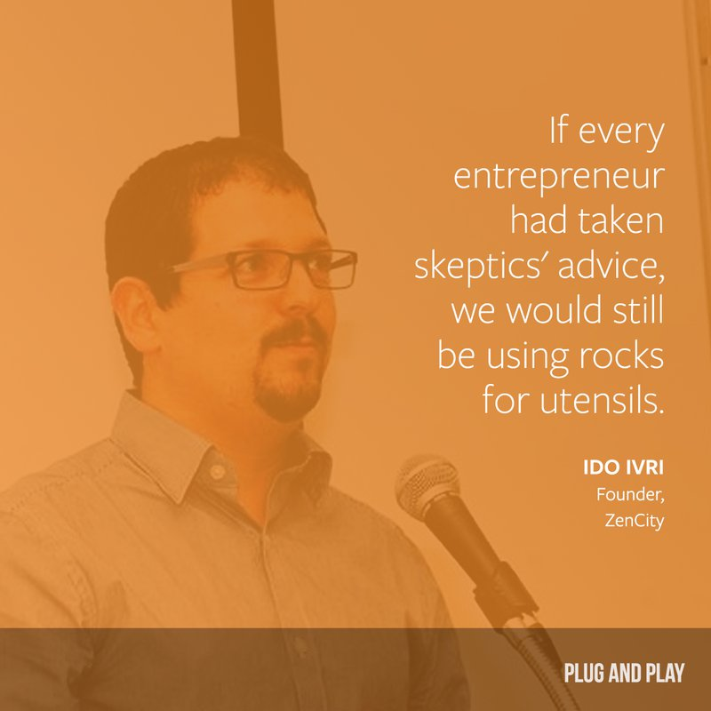 ido ivri entrepreneur quote