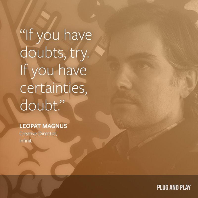 leopat magnus entrepreneur quote