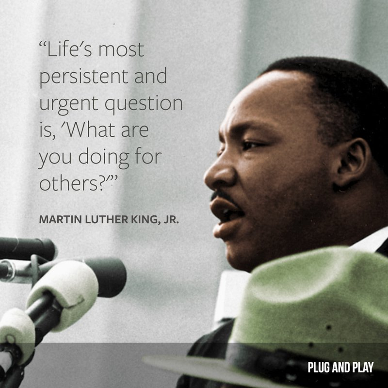 martin luther king entrepreneur quote
