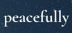 Peacefully Logo