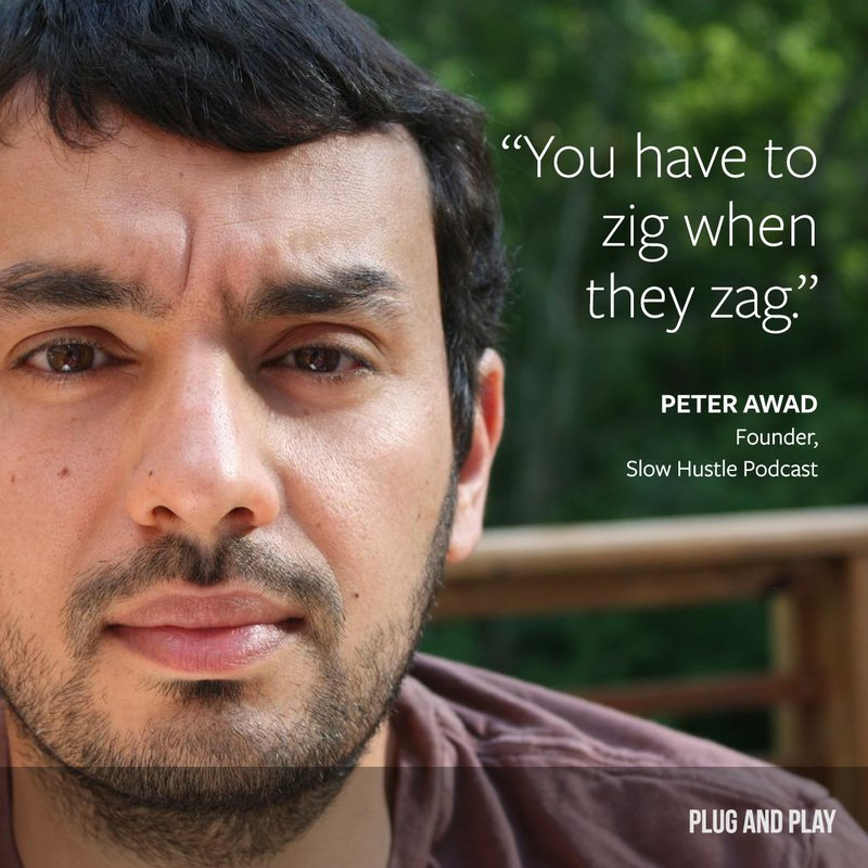peter awad entrepreneur quote