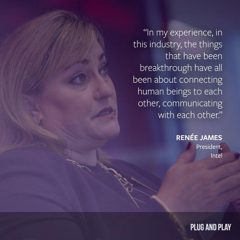 Renee James Plug and Play female entrepreneur