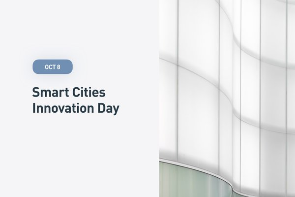 Plug and Play Smart Cities Innovation Day October