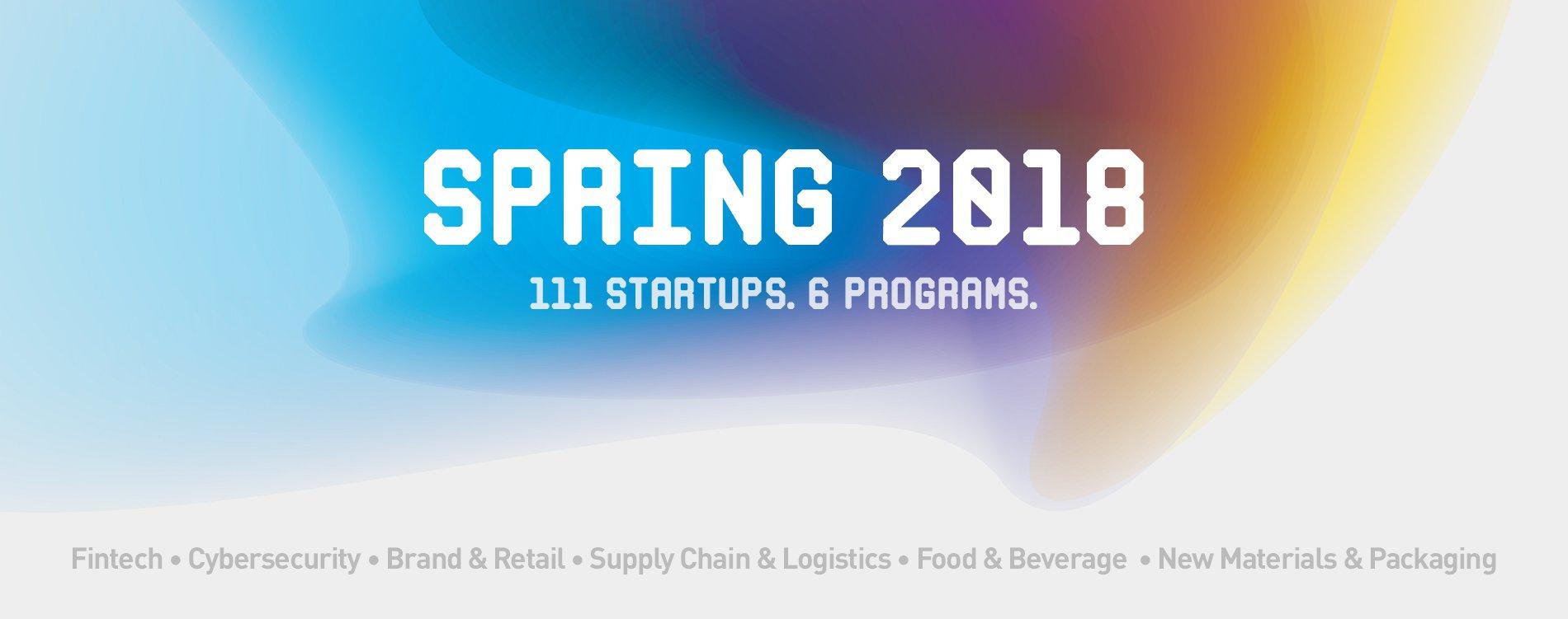 Plug and Play Spring Startups 2018
