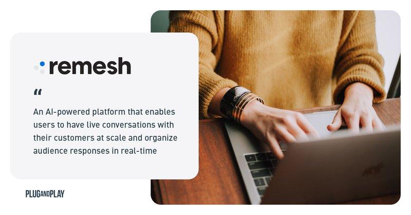 retail startups covid 19 remesh