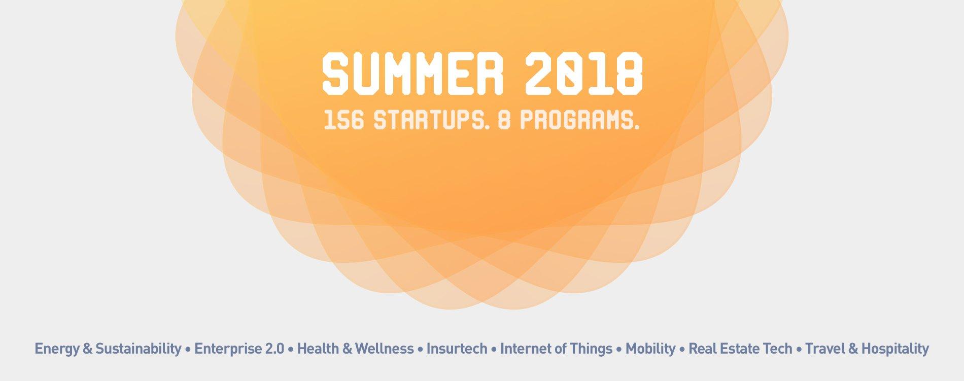 Plug and Play Summer Startups 2018