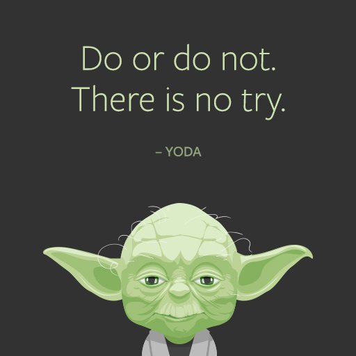 yoda entrepreneur quote